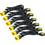 Power Cord Kit (6 ea), Locking C13 to C14/ 1.8m