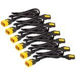 Power Cord Kit, Locking, C13 to C14/ 1.2m - 6pk