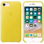 iPhone 8/7 Leather Case - Yellow