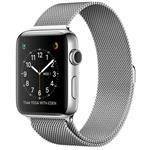 Watch Series 2, 42mm Stainless Steel Case With Silver Milanese Loop