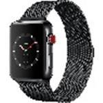 Tduk - + - Apple - Apple Watch Series 3 (gps + Cellular) - 38 Mm - Space Black Stainless Steel - Smart Watch With Milan (MR1Q2B/A)
