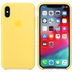 iPhone Xs - Silicone Case - Canary Yellow