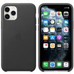 iPhone 11 Pro - Leather Case Black