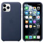 iPhone 11 Pro - Leather Case Midnight Blue