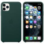 iPhone 11 Pro Max - Leather Case Forest Green