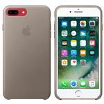 iPhone 7 Plus Leather Case - Taupe