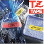 Tape 18mm Lami Black On Red (tz441)