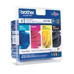 Ink Cartridge - Lc1100 - Multipack - Colour 325 Pages Black 450 Pages - Black / Cyan / Magenta / Yellow