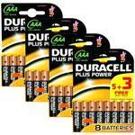Duracell Plus Power Aaa X 32 32 X Aaa Bundle (4 Packs Of 8)