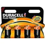 Duracell Batteries Plus Power C Size 4 Pack - Mn1400b4