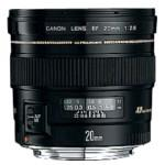 Fixed Focal Length Lens Ef 20mm F/2.8 Usm
