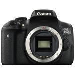 Digital Camera Slr Eos 750d Body 24.2mpix Ef-s 18-55mm Is Stm Hull Hd 3.0in