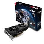 Video Card Radeon Rx 570 4GB Gddr5 Nitro+ Pci-e 2xhdmi DVI-d 2xdp W/bp