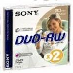 DVD-rw Media Mini 1.4GB Single Sided 1pk New Design