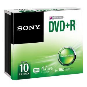 DVD+r Media 4.7GB 16x 10pk Slim Case