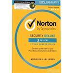 Norton Security Deluxe (v3.0) 1 User 3 Devices 12 Months Esd
