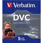 Digital Video Cassette 60 Min 5-pk