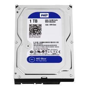 Hard Drive WD Blue 1TB 3.5in SATA 3 7200rpm 64MB Buffer