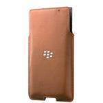 Blackberry Priv Leather Pocket Tan