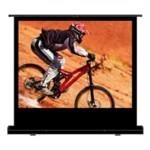Projector Screen Manual Pull Up 84in With A 4:3 Aspect Ratio 1.0 Gain