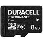 Duracell - Flash memory card (microSDHC to SD adapter included) - 8 GB - UHS-I U1 / Class10 - microS (DRMSD8PE)
