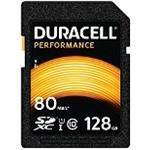 Duracell - Flash memory card - 128 GB - UHS-I U1 / Class10 - SDXC UHS-I (DRSD128PE)