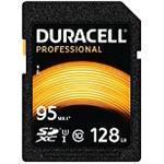 Duracell - Flash memory card - 128 GB - UHS-I U3 / Class10 - 600x - SDXC UHS-I (DRSD128PR)