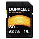 Duracell - Flash memory card - 16 GB - UHS-I U1 / Class10 - SDHC UHS-I (DRSD16PE)