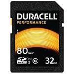 Duracell - Flash memory card - 32 GB - UHS-I U1 / Class10 - SDHC UHS-I (DRSD32PE)