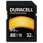 Duracell - Flash memory card - 32 GB - UHS-I U3 / Class10 - 600x - SDHC UHS-I (DRSD32PR)