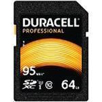 Duracell - Flash memory card - 64 GB - UHS-I U3 / Class10 - 600x - SDXC UHS-I (DRSD64PR)