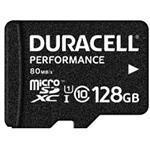 Duracell - Flash memory card ( microSDXC to SD adapter included ) - 128 GB - UHS-I U1 / Class10 - mi (DRMSD128PE)
