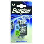 Energizer Lithium 1.5v AA 2 Pack